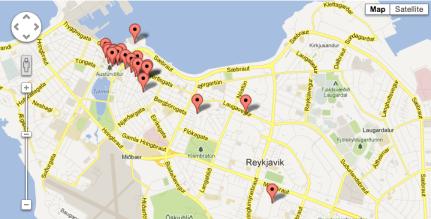 Free WiFi Hotspots in Reykajvik