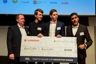 VodafoneHackathonWinnerCheque