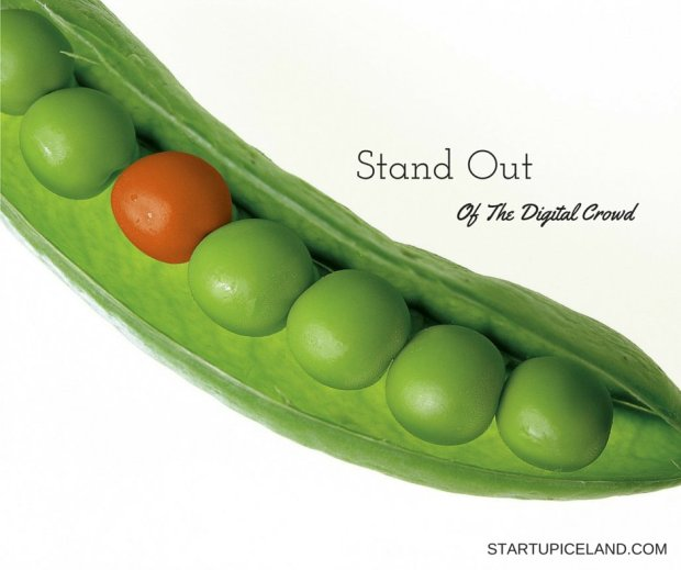 Stand Out of the Digital Crowd
